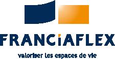 Franciaflex logo plafonds cloisons